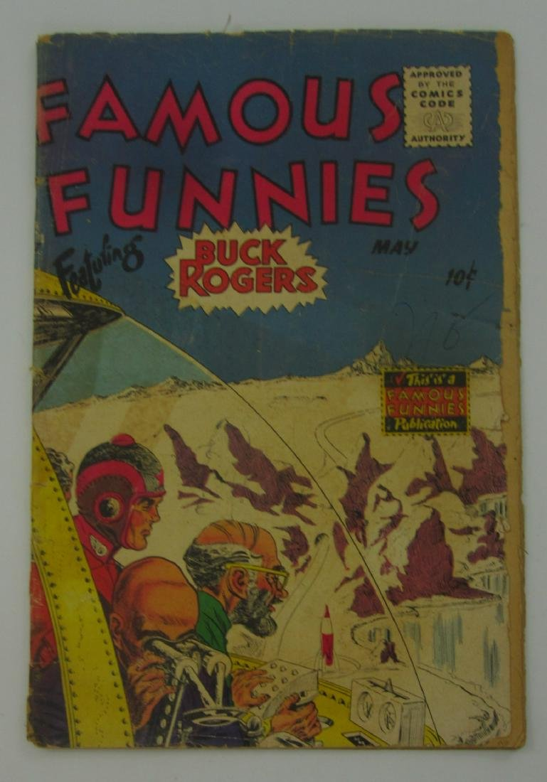 Famous Funnies #217 (May 1955) Buck Rogers