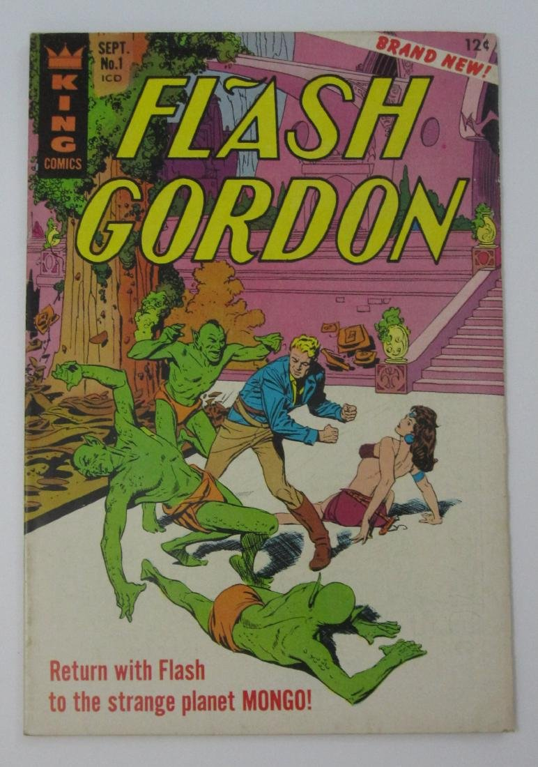 Flash Gordon #1-5 (King Comics)