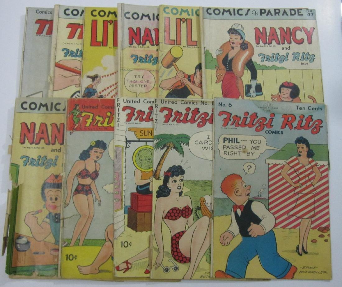 Fritzi Ritz, Comics On Parade (11) Golden Age Comics