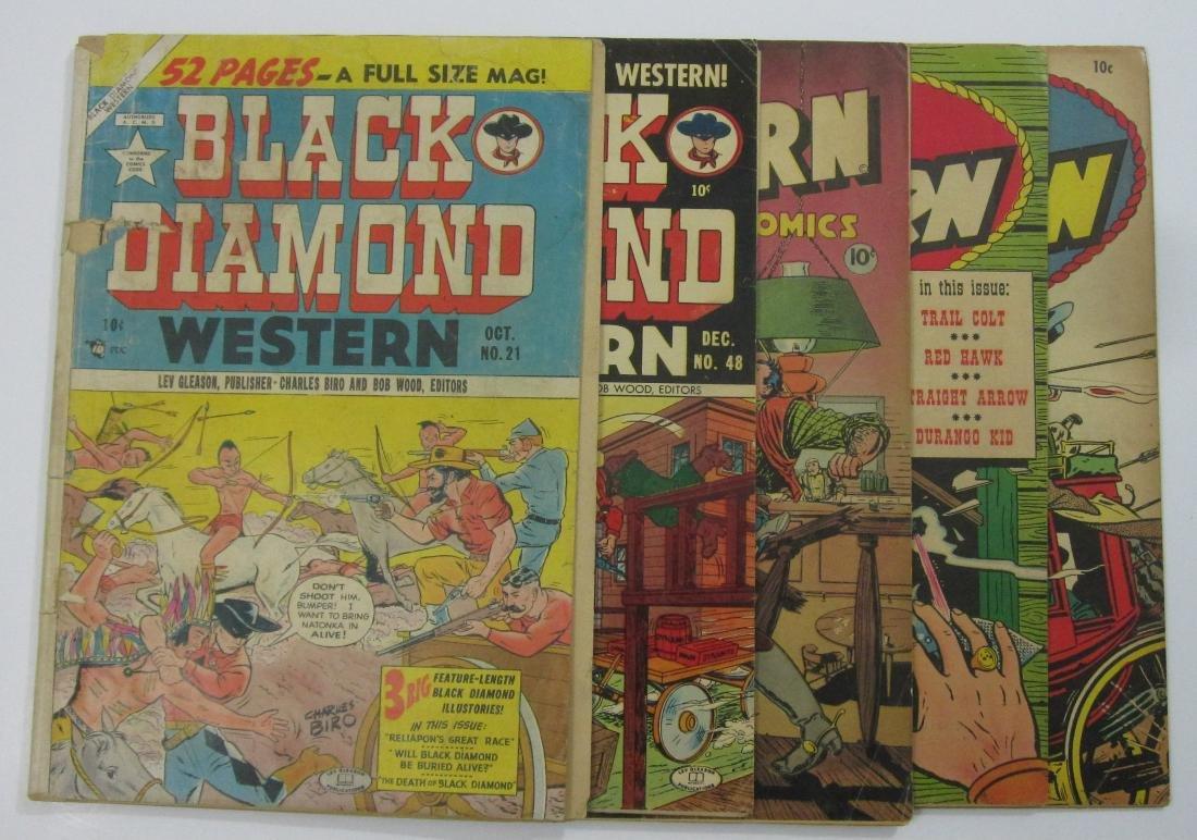 Golden Age Western (5) iss. Black Diamond/Great Western