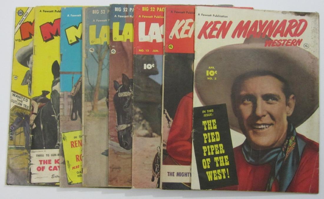 Golden Age Westerns Ken Maynard, Lash LaRue, Monte Hale