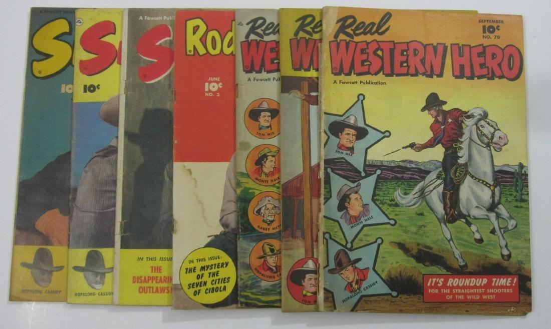 Golden Age Westerns Real Western Hero, Six Gun Heroes