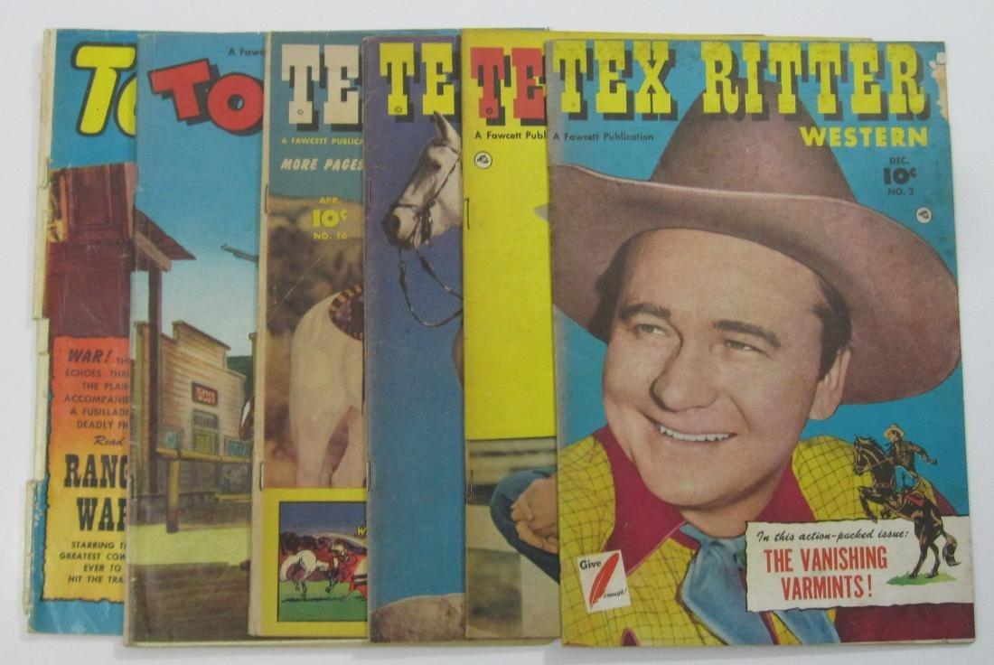 Golden Age Westerns Tex Ritter, Tom Mix
