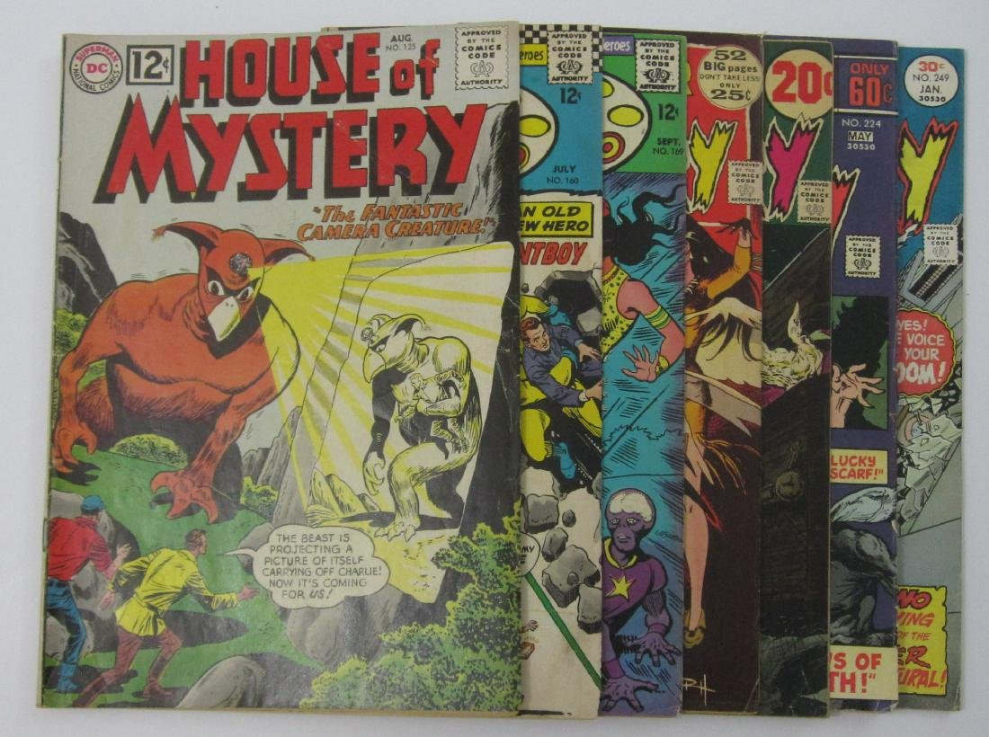 House of Mystery (7) Silver/Bronze Age Comics