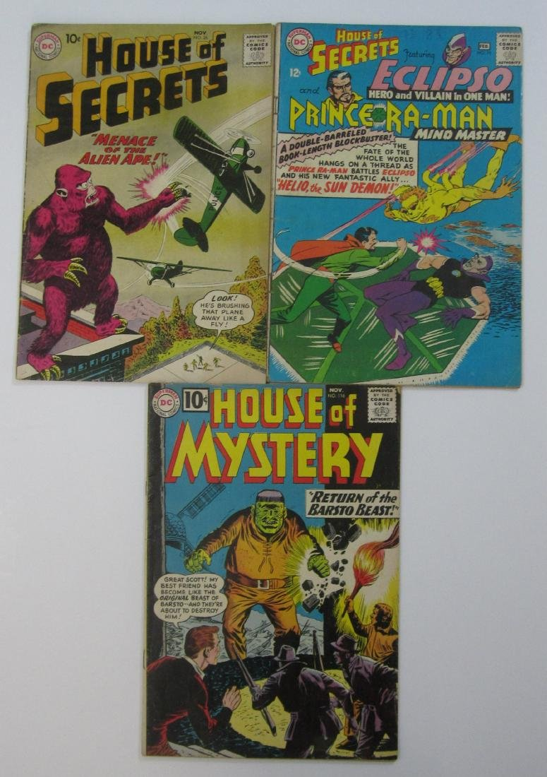 House of Secrets #26 & 76, House of Mystery #116