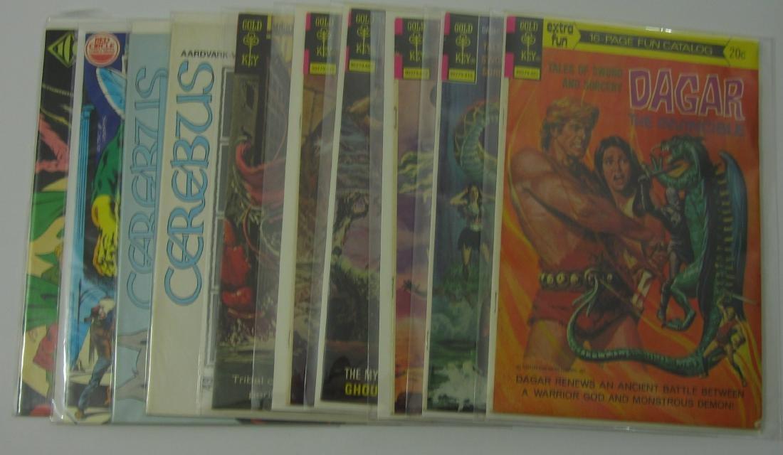 Independent (10) Bronze Age Comic Books