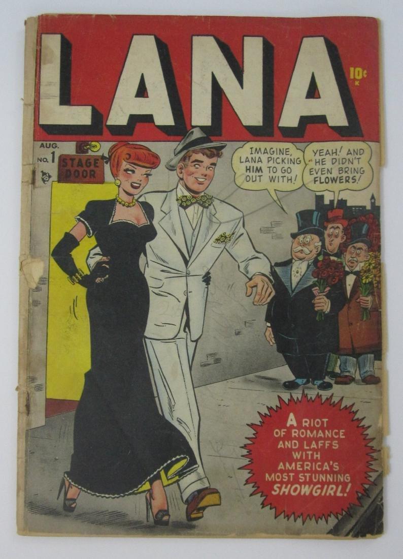 Lana Comics #1 (Aug 1948, Timely/Marvel)