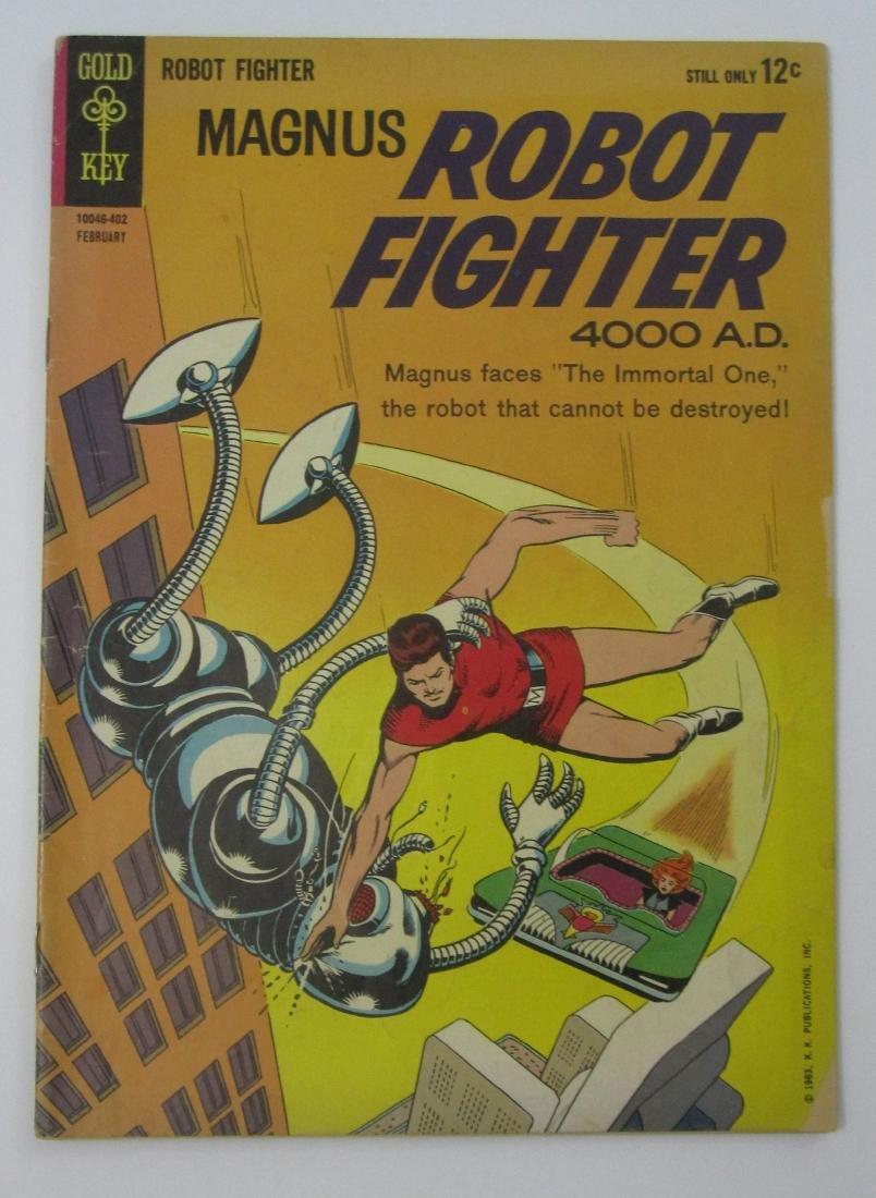 Magnus Robot Fighter (Gold Key) #5, 8, 11-13