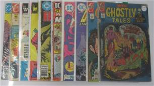 Marvel, DC, Charlton (50) Bronze Age comics Lot #3