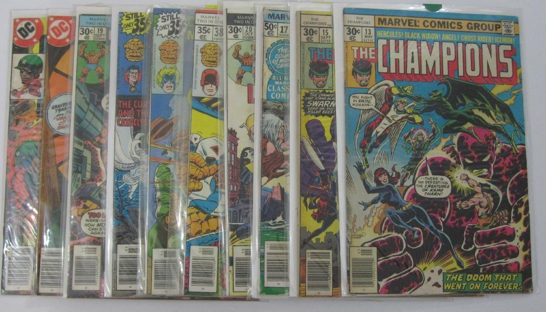 Marvel, DC, Charlton (50) Bronze Age comics Lot #6