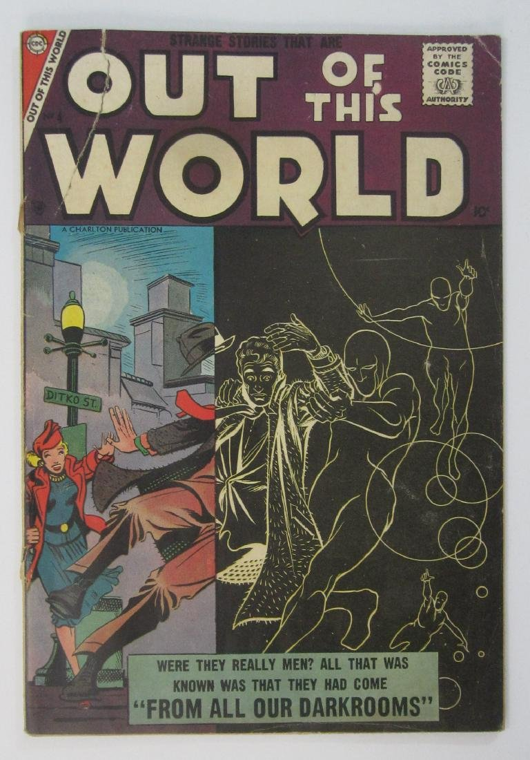 Out of This World #4 (Jun 1957, Charlton) Steve Ditko