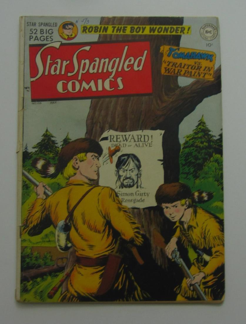 Star Spangled Comics #106 (Jul 1950, DC) Robin Story
