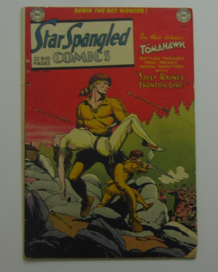 Star Spangled Comics #110 (Nov 1950, DC) Robin Story