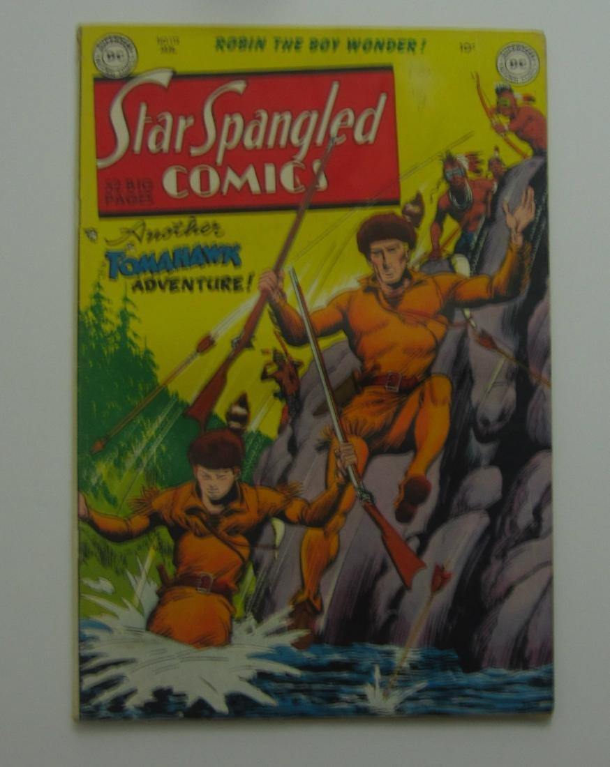Star Spangled Comics #112 (Jan 1951, DC) Robin Story