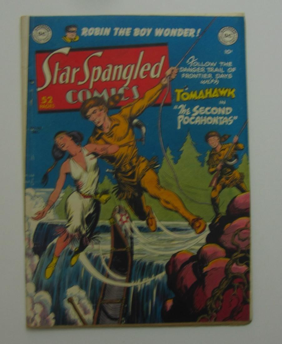 Star Spangled Comics #99 (Dec 1949, DC) Robin Story