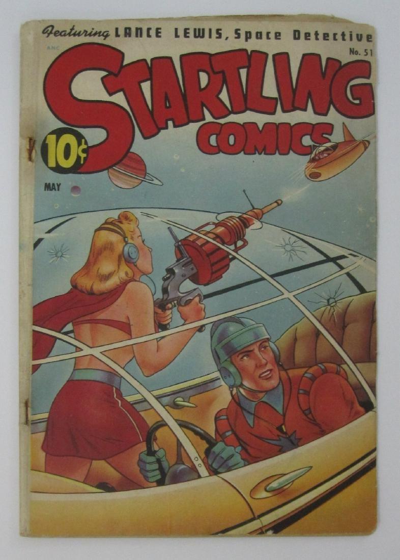 Startling Comics #51 (May 1948, Pines) Alex Schomburg