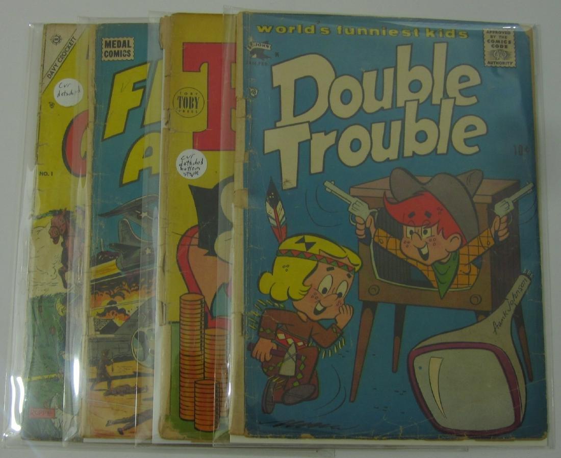 Various Golden Age (9) comic books