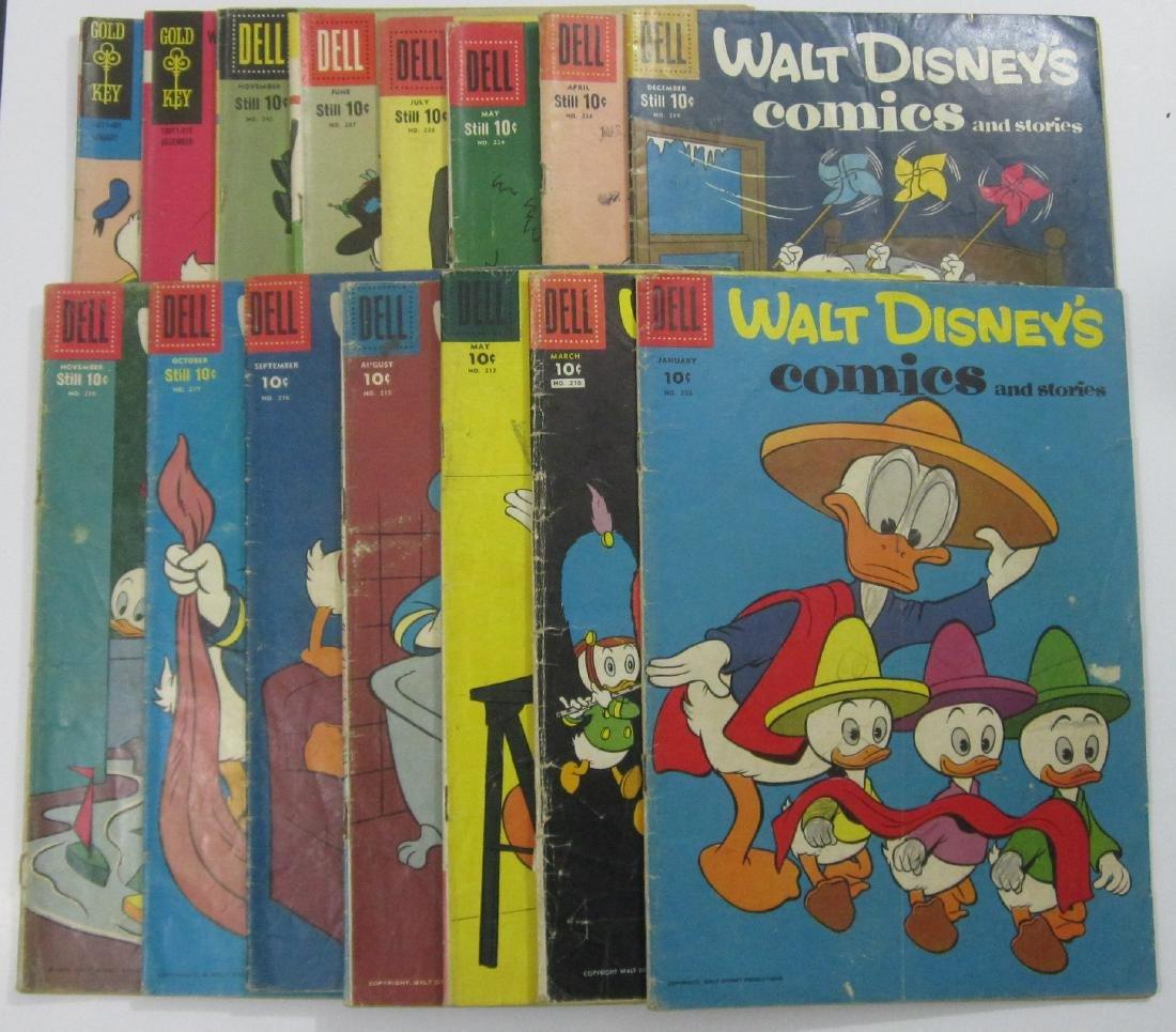 Walt Disney's Comics and Stories (15) comics Carl Barks
