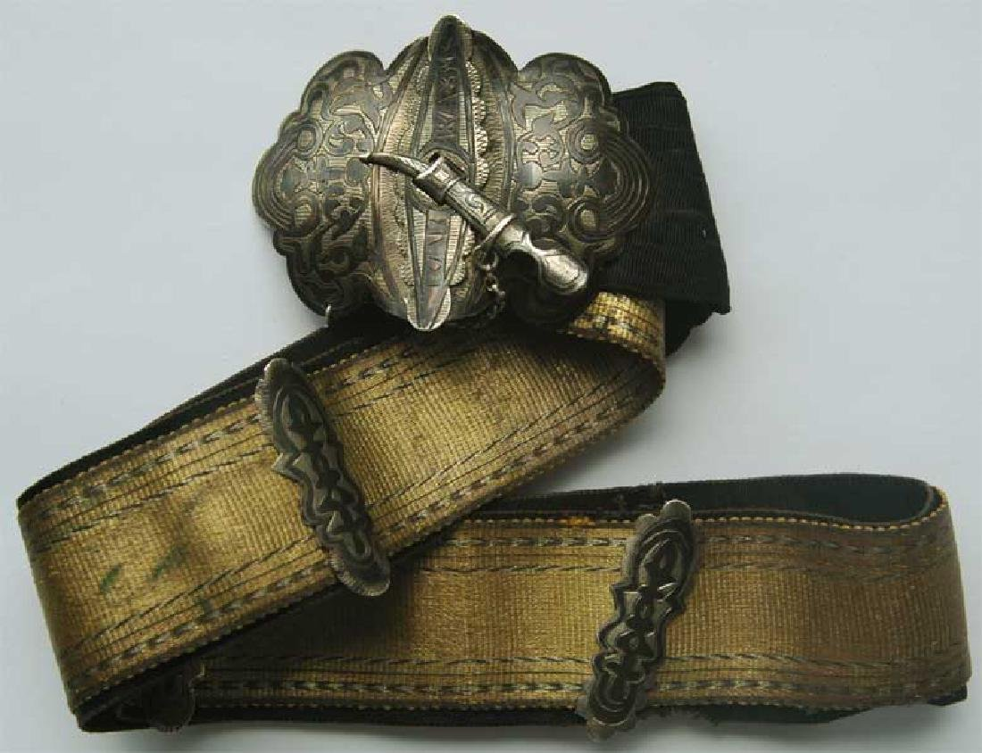 Russian Imperial GOLD Belt for Cossacks, 1860