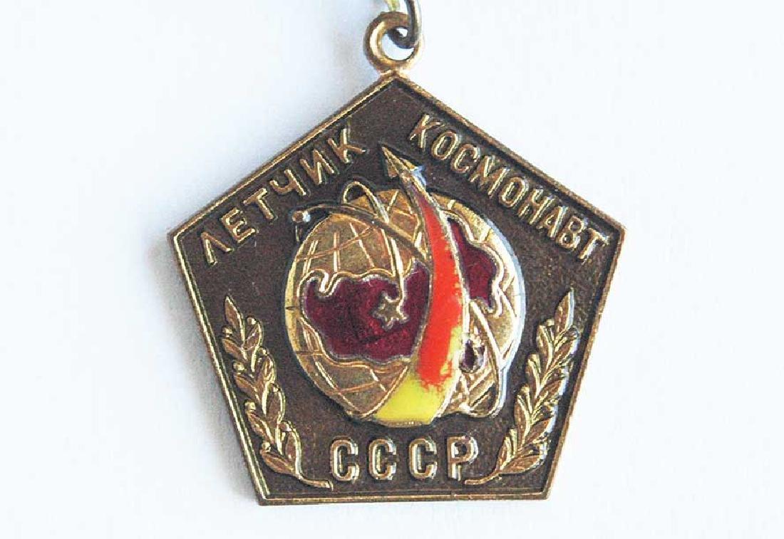 Russian Soviet PILOT - Cosmonaut Badge - 5