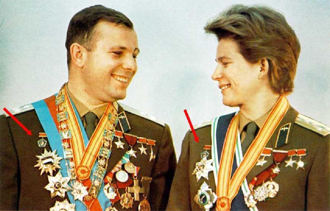 Russian Soviet PILOT - Cosmonaut Badge - 8