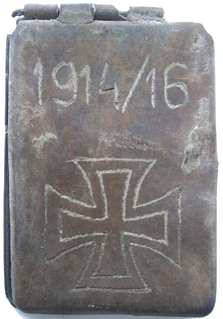 Original Rare German WW1 Dog Tag, 1914 - 1916