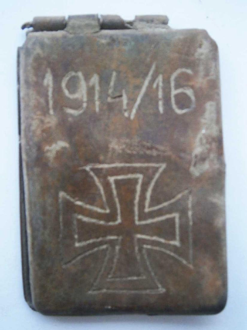 Original Rare German WW1 Dog Tag, 1914 - 1916 - 3