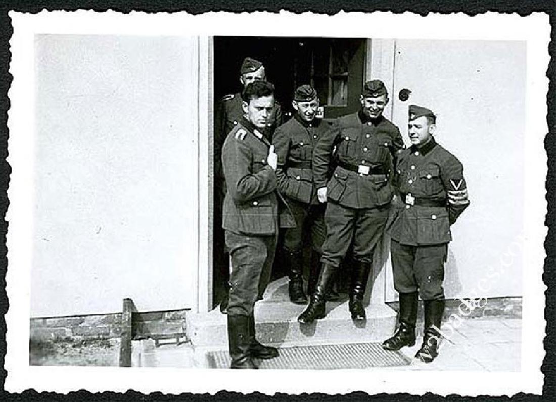 German WW2 Photo Chech Volunteer w. Armband, 1943