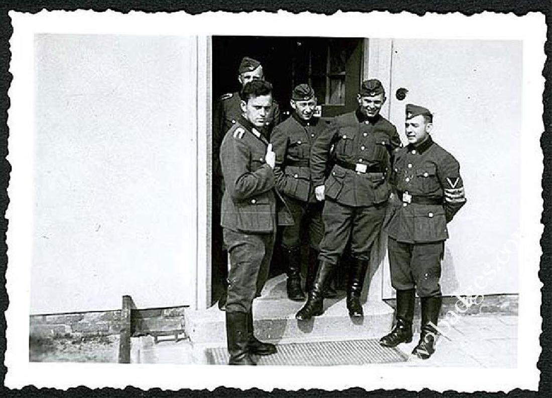 German WW2 Photo Chech Volunteer w. Armband, 1943 - 3