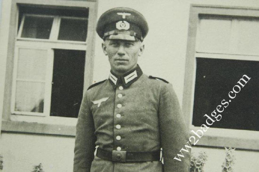 German WW2 Photo of Officer - 3