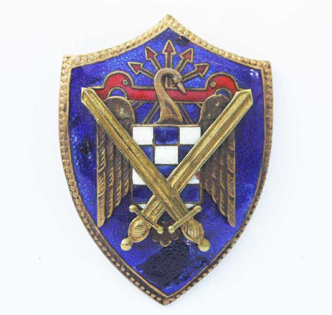 Spanish WW2 Badge Secret Service, Legion Condor