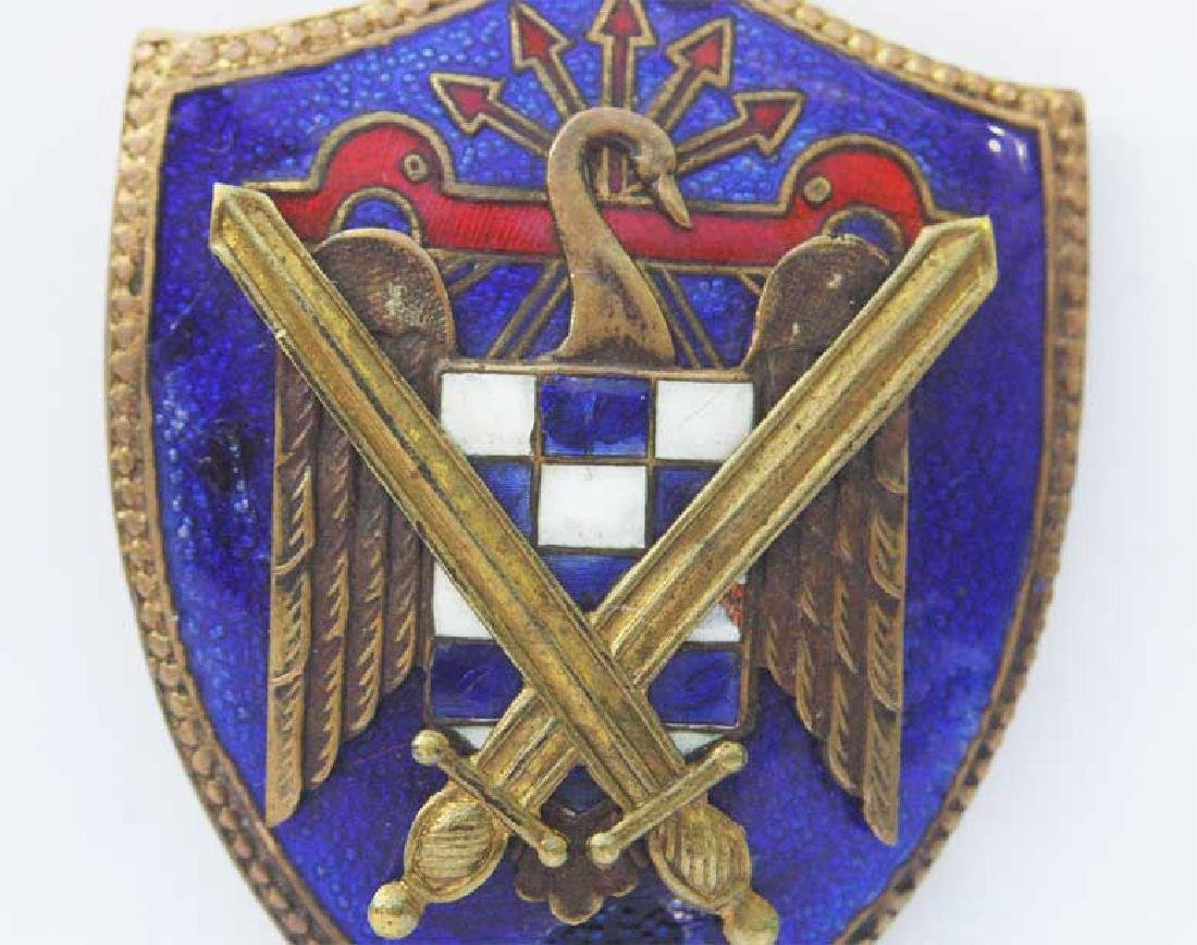 Spanish WW2 Badge Secret Service, Legion Condor - 2