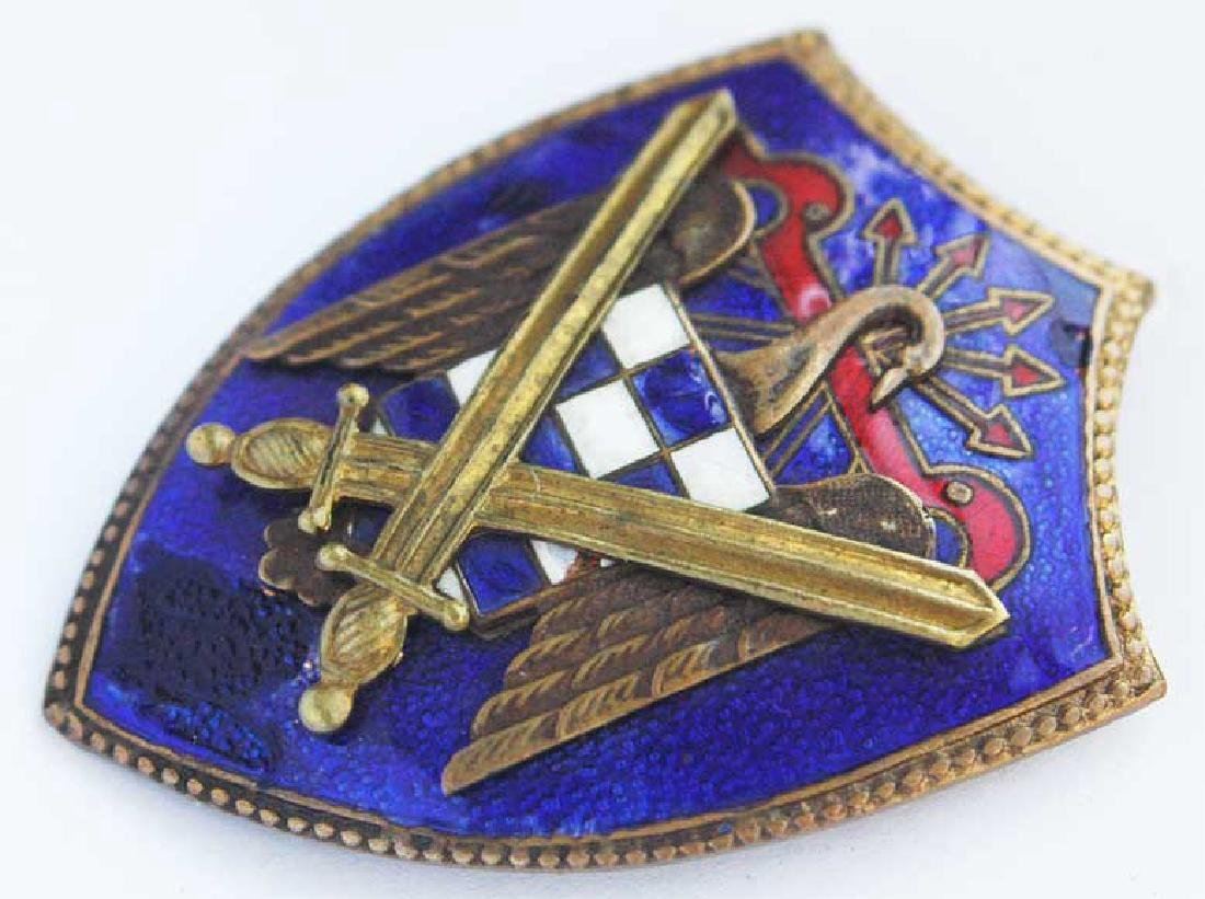 Spanish WW2 Badge Secret Service, Legion Condor - 3