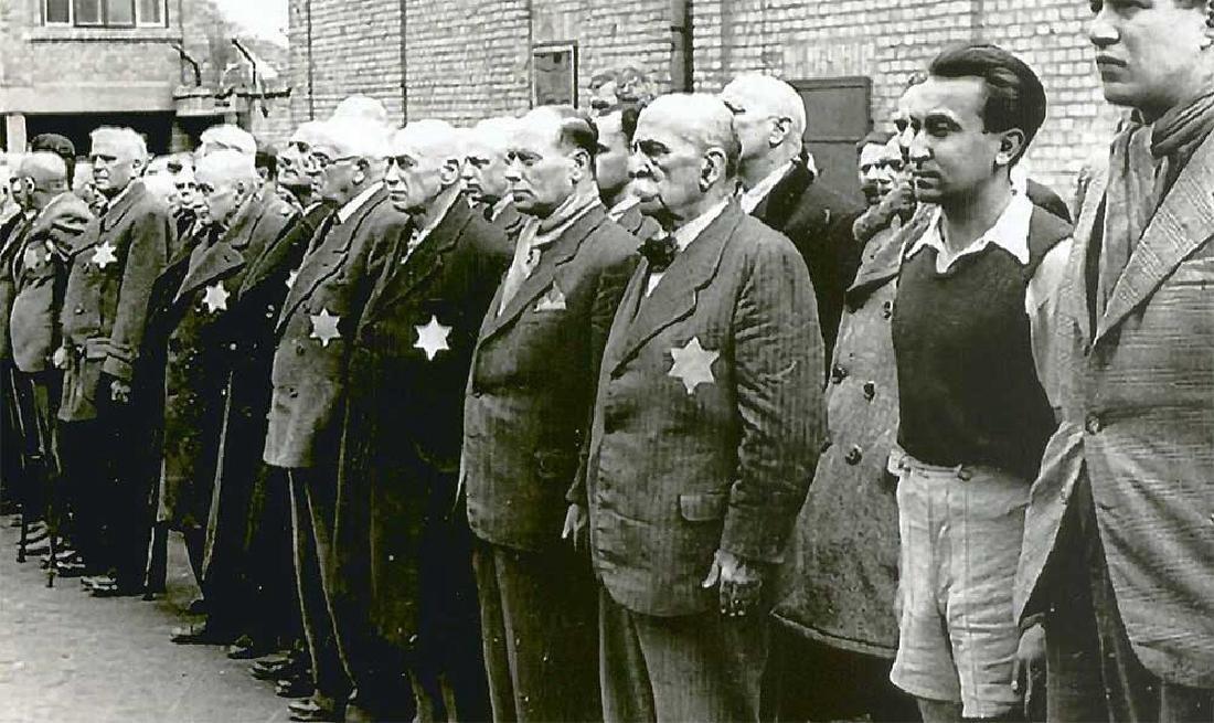 Original Rare Jewish WW2 VISA DOCUMENT - 7
