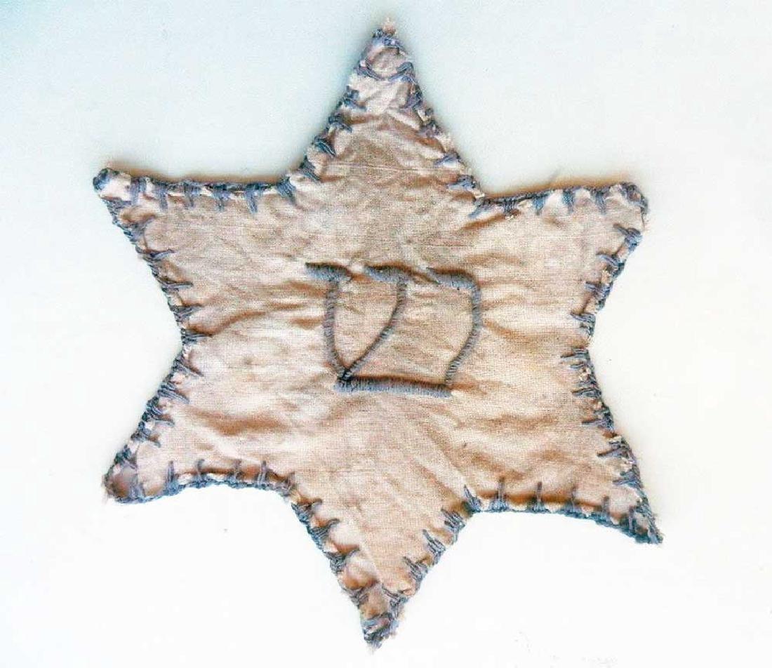 Original Jewish WW2 Star of David from Litzmannstadt