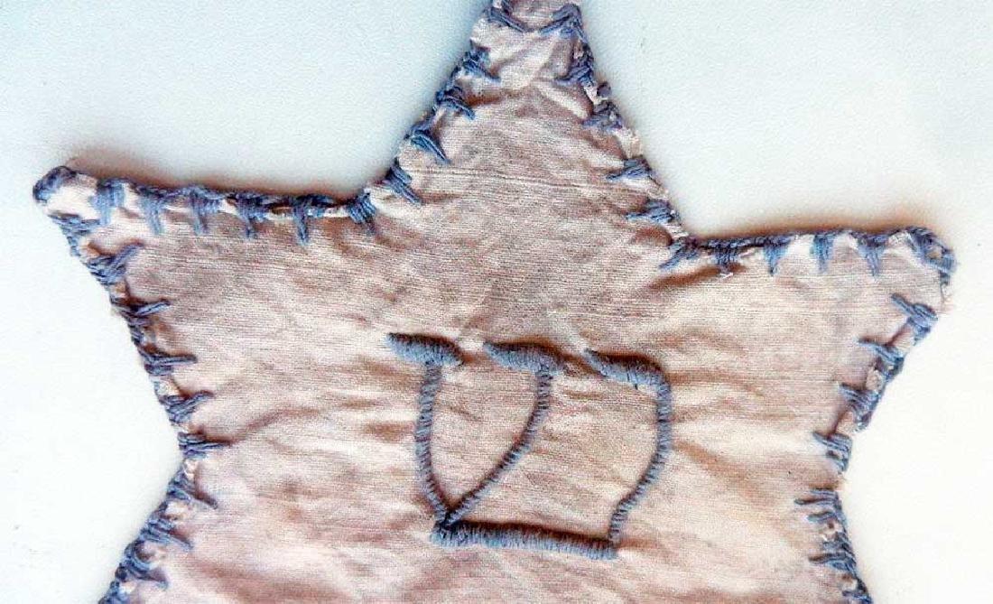 Original Jewish WW2 Star of David from Litzmannstadt - 3