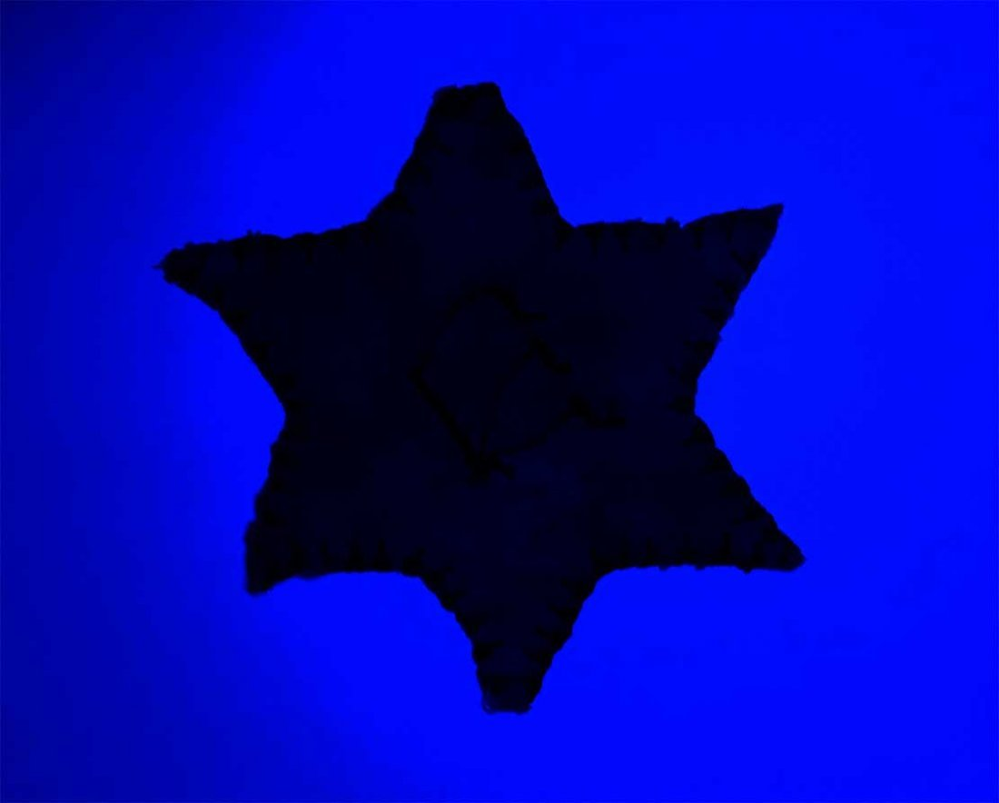 Original Jewish WW2 Star of David from Litzmannstadt - 8