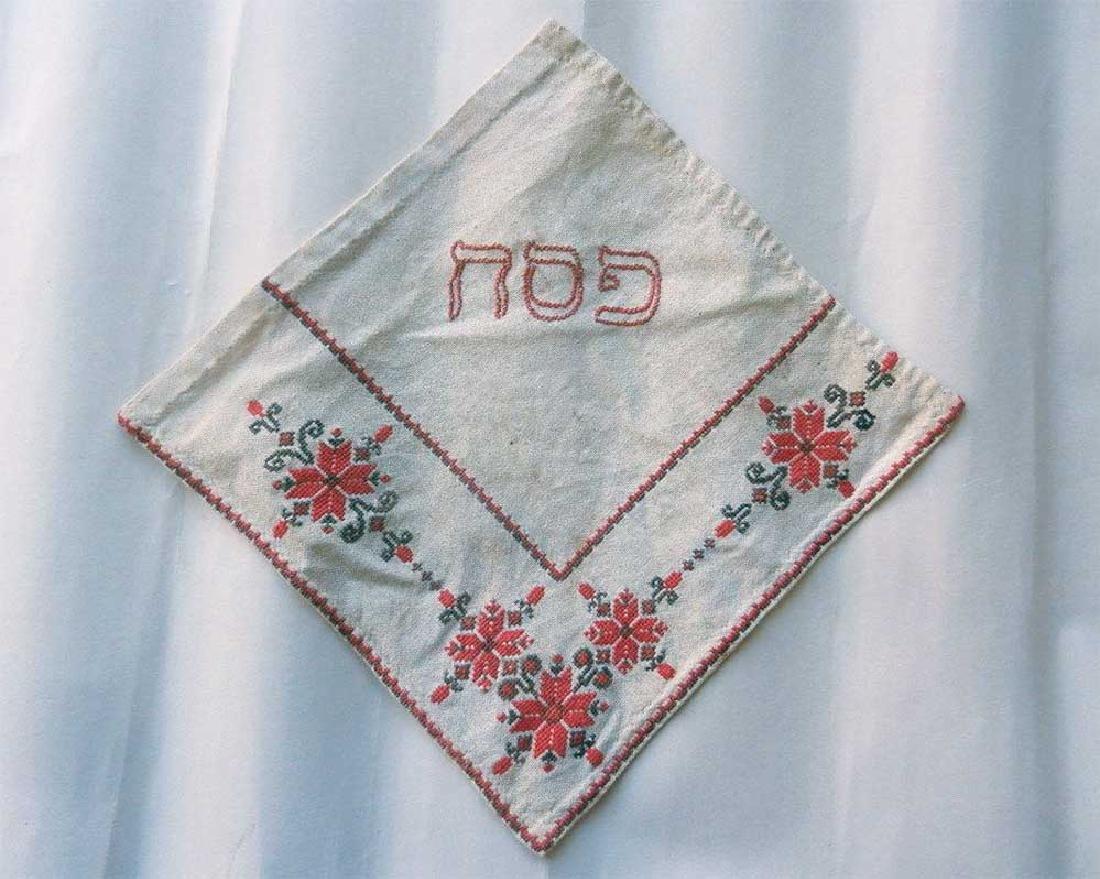Original Jewish WW2 Napkin fr. Litzmannstadt, 1941