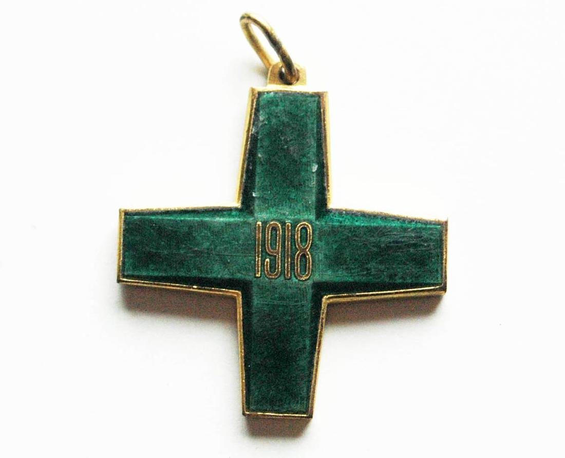 Russian CROSS FREEDOM of SIBERIA, WHITE GUARD, 1918