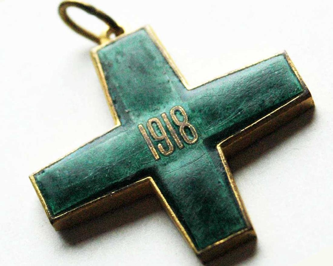 Russian CROSS FREEDOM of SIBERIA, WHITE GUARD, 1918 - 2