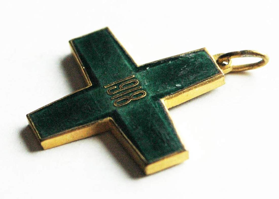 Russian CROSS FREEDOM of SIBERIA, WHITE GUARD, 1918 - 3