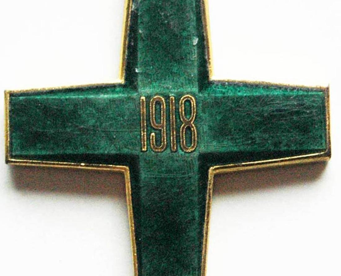 Russian CROSS FREEDOM of SIBERIA, WHITE GUARD, 1918 - 4