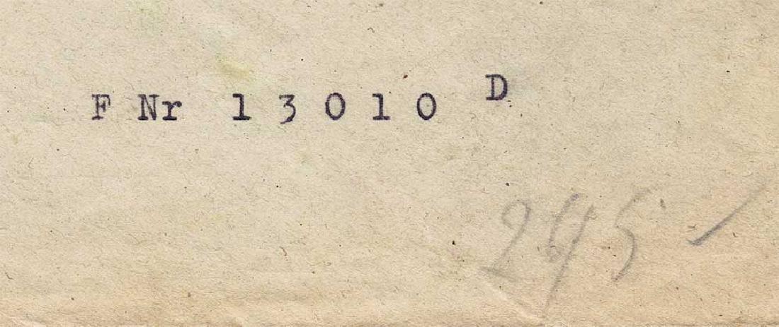 German WW2 Envelope Corporal, DACHAU 1944 - 6