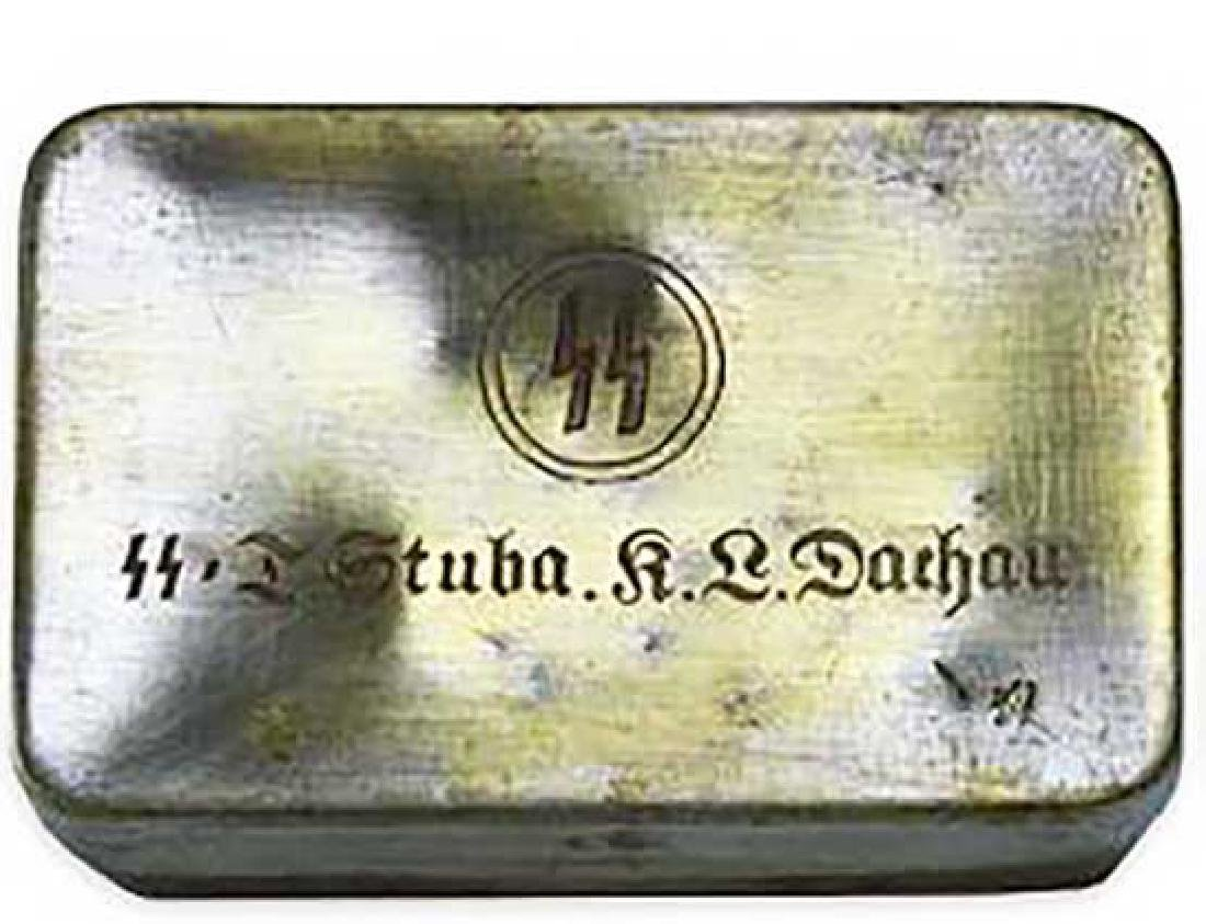 Original WW2 Box from KZ DACHAU Concentration Camp