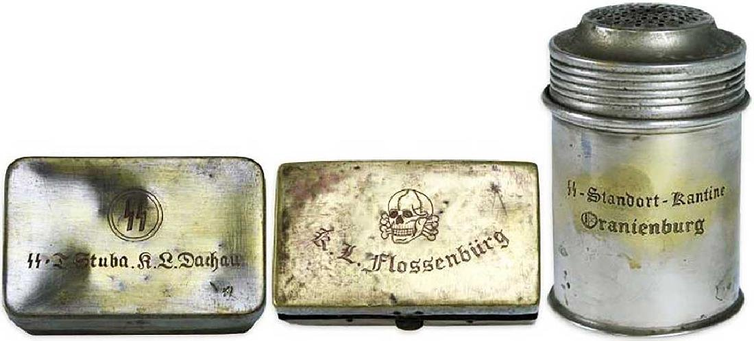Original WW2 Box from KZ DACHAU Concentration Camp - 3