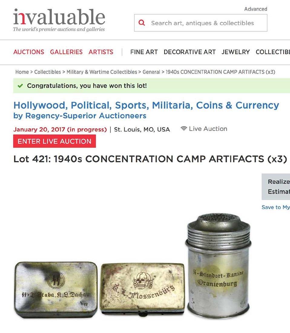 Original WW2 Box from KZ DACHAU Concentration Camp - 4