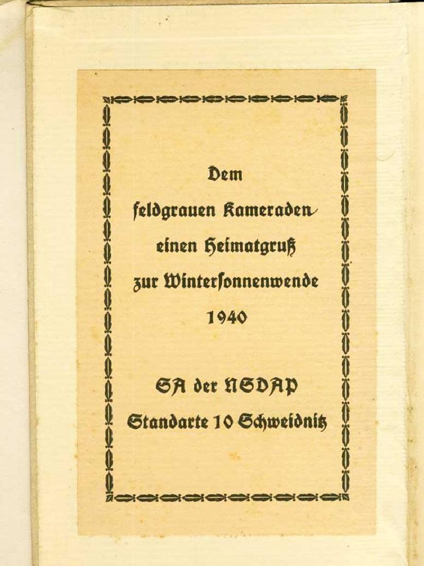 WW2 Book Concentration Camp, 1940, gift for NSDAP - 4