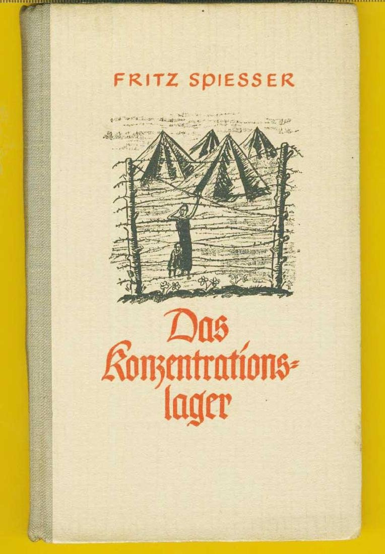 WW2 Book Concentration Camp, 1940, gift for NSDAP - 8