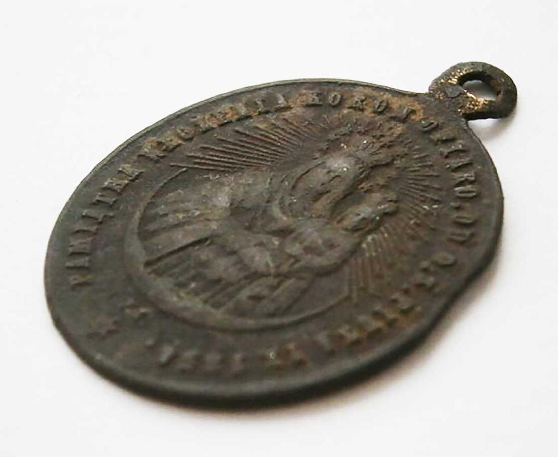 Unusual Poland WW2 Medalion w. STAR of DAVID - 4