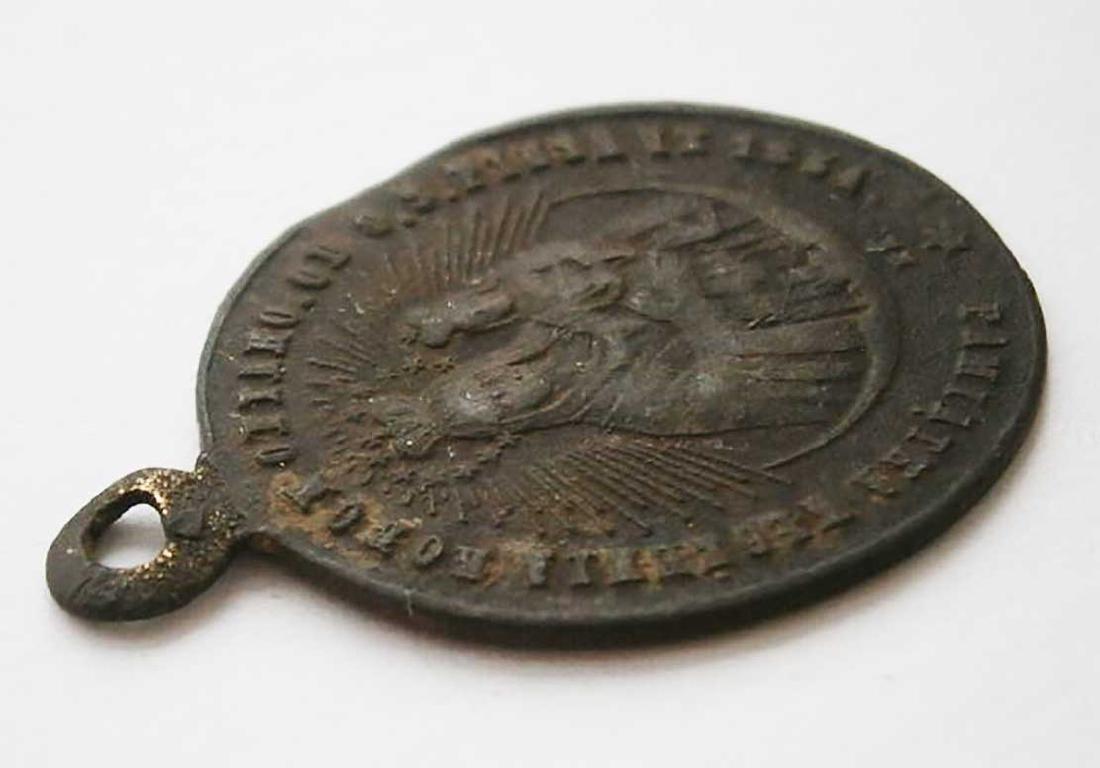 Unusual Poland WW2 Medalion w. STAR of DAVID - 5